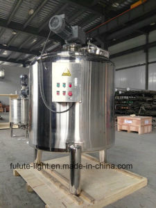 1000 Liter Stainless Steel Steam Heating Jacketed Blender Tank pictures & photos