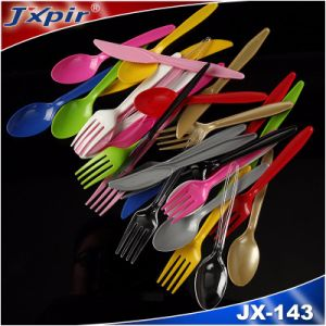 Jx143 Colorful Party Plastic Cutlery pictures & photos
