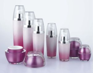 Drum Shape Cosmetic Acrylic Empty Lotion Bottle pictures & photos