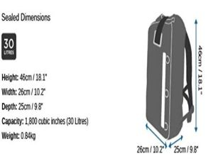 30 Litre Waterproof Super Dry Bag Backpack for Beach Hiking pictures & photos