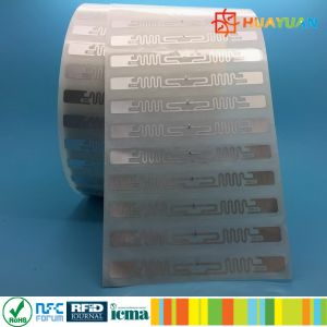 860-960MHz ALIEN 9640 H3 RFID UHF Label For WMS pictures & photos