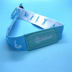 ISO18092 RFID NTAG213 Fabric Festival Wristband as Event Tickets pictures & photos