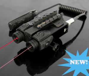 New Military Grade Dual Red Laser Sight and IR Laser Scope Combo (ES-FX-4RIR-ML) pictures & photos