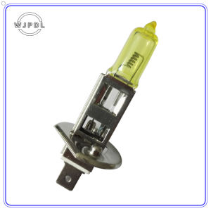 Headlight H1 24V Yellow Halogen Car Fog Light/Lamp pictures & photos
