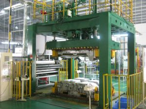 Automatic Carpet Thermoforming Production Line pictures & photos