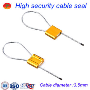Security Seal Cable Lock Cable Seal (3.5mm) pictures & photos