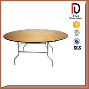 Wooden Durable Banquet Round Table (BR-T081) pictures & photos