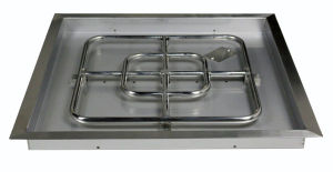 """24"""" Square Stainless Steel Drop in Fire Pit Pan pictures & photos"""