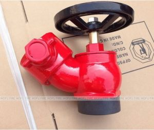 65mm 2.5 Inch Brass Fire Hose Angle Valve pictures & photos