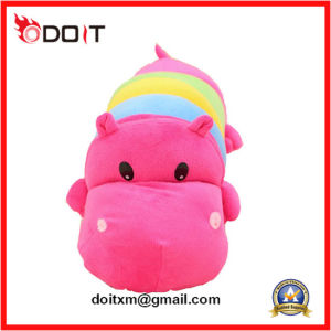 Baby Super Soft Plush Doll Stuffed Lovely Hippo Plush Toy pictures & photos
