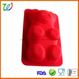 Lovely Bear Molds Silicone Cake Moulds pictures & photos