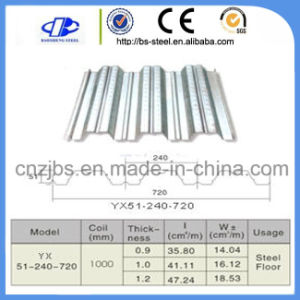 Corrugated Floor Sheets Profile Decking Sheets pictures & photos