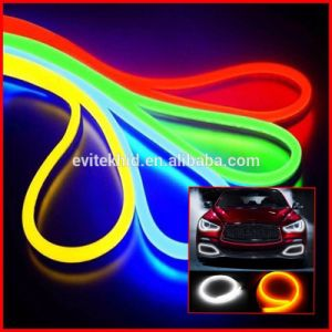 New Design Flexible DRL 12V High Quality LED Daytime Running Light White Driving Lamp for All Cars pictures & photos