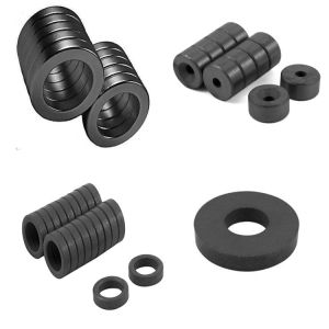 High Quality Ferrite Y10t Round Magnet pictures & photos