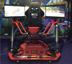 2017 New Arcade Game Machines 3 Screen Racing Car Simulator 6 Dof Racing Games pictures & photos