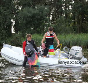 Liya 3.8m Small Cheap Rigid Hull Inflatable Boat for Sale pictures & photos