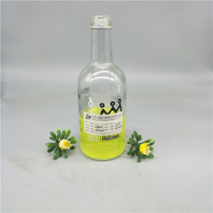 330ml Fruit Juice Glass Bottle with Lid pictures & photos