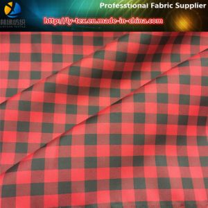 1 Cm Polyester Ginham Check, Polyester Tarn Dyed Twill Check Jacket Fabric (YD1170) pictures & photos