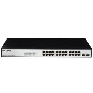 12V Passiv Poe Switch 10/100Mbps Fixed Vlan Optional (FB-2400F12) pictures & photos
