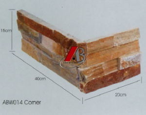 Culture Stone Wall Bricks in Corner Shape (AB014) pictures & photos