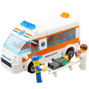 14885010-199PCS Ambulance Enlighten Blocks DIY Educational Toys for Kids Rescue Team Educational DIY Toys pictures & photos