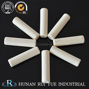 Heat Resistant 99 Alumina Ceramic Thermocouple Insulator Tubes with 2 Holes for Furnace pictures & photos