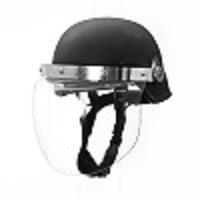 Nij III Kevlar PE Ballistic Bulletproof Helmet with Visor pictures & photos
