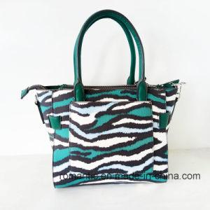 Gunagzhou Supplier Fashion Women PU Snake Handbags (NMDK-052707) pictures & photos