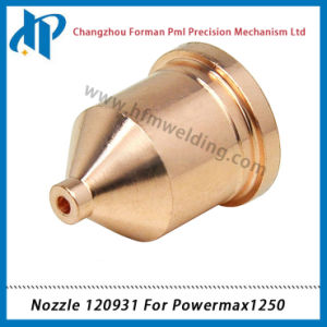 Nozzle 120931 for 1250 Plasma Cutting Torch Consumables 60A pictures & photos