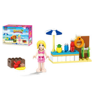 14881104- Action & Toy Figures City Friends Girl Series Summer Beach Swimsuit Girl Sailing Vehicle Car Princess Kids Toys pictures & photos