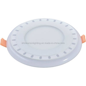 Round Two Color 3+2 W LED Panel Light
