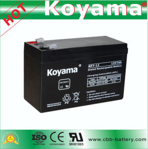 Motor Gate Battery Lead Acid Battery 7ah 12V pictures & photos