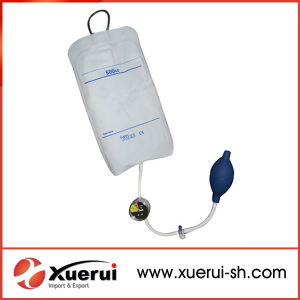 Medical High Quality TPU Pressure Infuser with Gauge pictures & photos