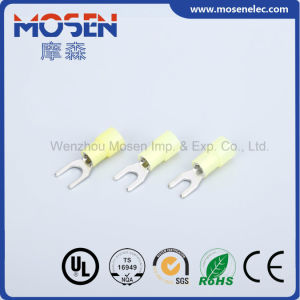 Cable Connector Electrical Connectors Wire Connector Nylon Insultated Cold Pressing Terminal pictures & photos