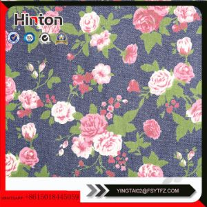 Printed Denim Fabric for Lady Handbag Material pictures & photos