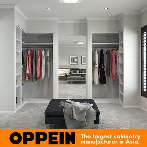 Oppein Modern White Melamine Walk-in Closet (YG17-M04) pictures & photos