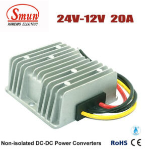DC to DC Converter 24V-12V 20A Car Power Converters pictures & photos
