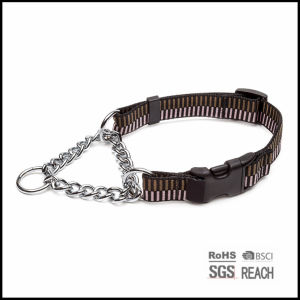 Pet Dog Products Supply 2.5cm Nylon Martingale Shock Dog Cat Training Collar pictures & photos