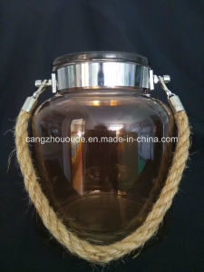 Wholesale Clear Glass Container for Storage pictures & photos