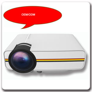 1080P Multimedia Home 3D Projector with Rich Interfaces pictures & photos