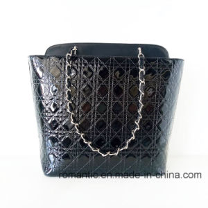 Trendy Fashion Lady PU Emrboidery Handbags with Chain (NMDK-052703)