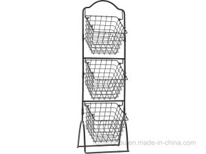 Metal Wire Supermarket Retail Adjustable Snack Candy Display Stand Rack pictures & photos