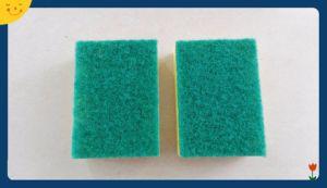 Heavy Duty Abrasive Nylon Colorful Sponge Scouring pictures & photos