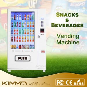 Full Touch Big Screen Vending Machine for Pancake and Yoghourt pictures & photos