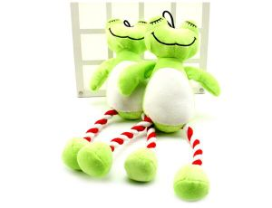 Cute Frog Plush &Stuffed Squeaky Pet Toy for Dog pictures & photos