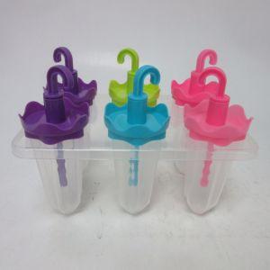 6PCS Set Plastic Umbrella Shape Popsicle Ice Pop Mold pictures & photos