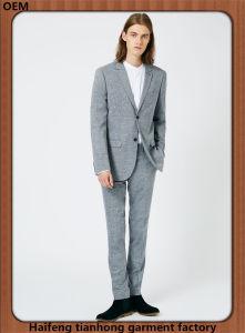 Men Fashion Clothing Grey Suits Shopping