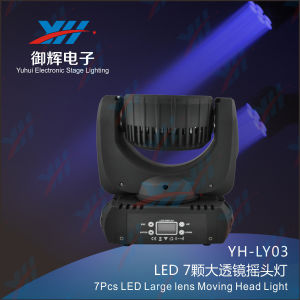 7X12W RGBW 4 In1 LED Large Lens Moving Head Light pictures & photos
