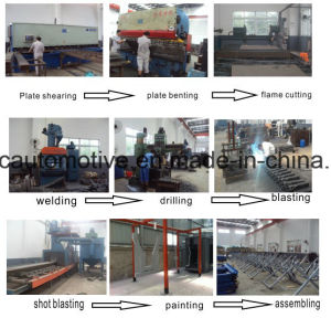 3D Scissor Lift for Spray Booth (AA-3DLFSB) pictures & photos