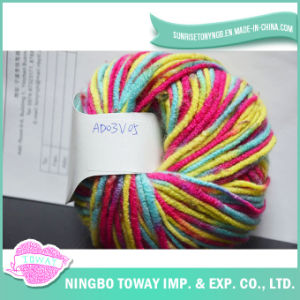 High Strength Weaving Cotton Hand Knitting Fancy Yarn pictures & photos